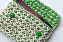 Crochet bags and purse