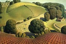 grant wood / by Cable