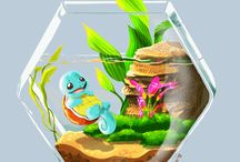Water type starters