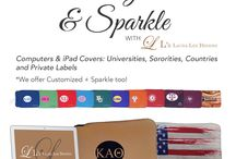 Tech Take / Introducing LLD's new tech cases! http://www.lauraleedesigns.com/sorority-sleeves/