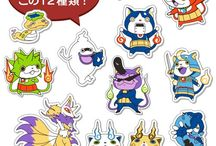 stiker yokai watch