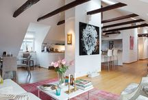 Attic flat decor