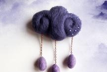 Brooch / Wool