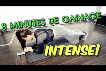 EXERCICES : gainage ABDOS  ventre