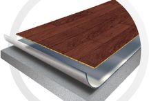 Floor assembly / Acoustic floor assembly / Assemblage acoustique de plancher