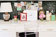 Desks | Office-Style / How to create a lovely workspace