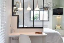 chambre minimaliste blanc cosy