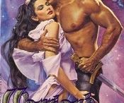 Caught in a GOOD Romance WHOAAAA / Awesome vintage romance covers! Some people look at these covers and think CHEESY, I look at them and think what sort of SWOONS are between these covers.