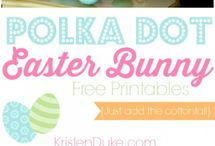 Easter / Let's get our bunny on!!  / by Jennifer Evers of Me, Myself and Jen