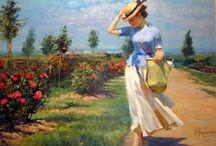 painter: Vladimir Volegov