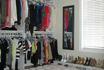 Room to walk in closet / by Rachel Thies