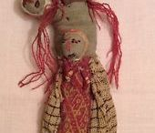 Peruvian grave dolls