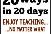 "Enjoy Teaching Every Day / Practical, teacher-tested ideas for enjoying teaching every day. Based on the NEW book ""Unshakeable"" by Angela Watson. / by Angela Watson's Teaching Ideas"