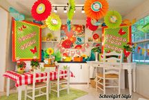 garden Classroom theme