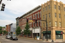 My home town - Zanesville, OH / My home sweet home.  A town that holds my greatest childhood memories and a special place in my heart!  Home of Tom's Ice Cream Bowl, Bloomer Candy Co., Conn's Potato Chips, and many others!
