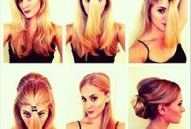 Hair / Hair styles, Tips & Ideas I like