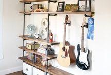 Musik/hobbyraum