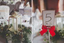 Christmas Wedding Ideas / Festive & romantic ideas for winter Christmas weddings.