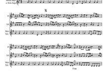 Partituras / Partituras para flauta dulce y otros instrumentos escolares