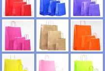 Kraft Bags / Italian Kraft Paper Bags in 15 colours, and 3 sizes