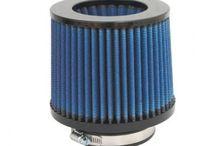 aFe 24-91033 - Air Filter Pro 5R 3-1/2Fx6Bx5-1/2T (Inv)x5H w/ 1/2Hole (IM) (Blue) | TDOT Performance