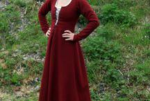 Middelalder kjoler