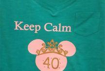 40th birthday Disney Style