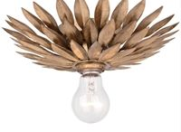 Crystorama Lighting Broche Collection / Crystorama Lighting has been around in the lighting industry for several years maintaining its reputation to be the leading producer of exceptionally creative lighting products.