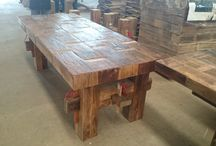 Recycled Timber and Furniture / Very old Recycled Flooring and Furniture