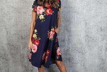 Virágos ruhák