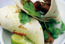 cuisine: wraps, rouleaux printemps...