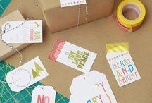 Cadeaux - Emballages - Cartes