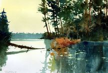 John Pike-Watercolours