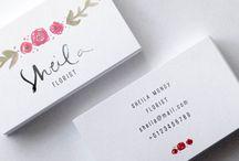 flowershop namecard