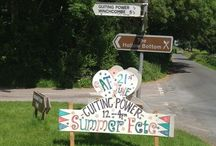 Guiting Power in the Cotswolds / Interesting pictures of Guiting Power in the Cotswolds