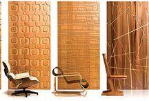 Lasser cutting wall panel