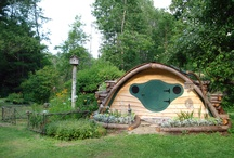 """Hobbit Hole Utility Building (aka """"Shed"""") / Highly versatile utility space, in a highly attractive package.  The word """"shed"""" is almost too ugly... / by Wooden Wonders Hobbit Holes"""