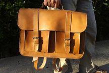 Men's handmade leather Bag