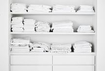 fresh linen / linen organisation