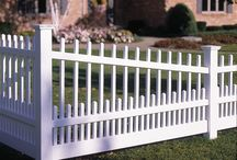 Bufftech Classic Vinyl Fence / Vinyl fence