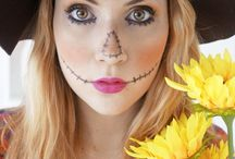 maquillage epouvantail