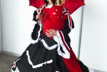 Rachel Alucard - Blazblue / Normal colors.  #rachel #alucard #ragna #blazblue #cosplay #rydia #jin #videogame
