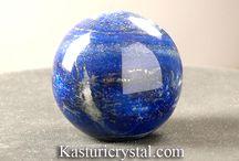lapis sphere / lapis is natural gemstone