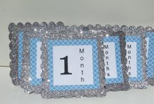 Baby 12 Month Photo Banners
