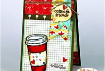 Stampin up coffee card