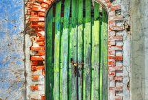 verzameling voor schilderij / deuren