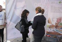 Campaña solidaria Intercun Banco de Alimentos / Intercun ha llevado a cabo una campaña de recogida de alimentos a favor del Banco de Alimentos en las ciudades de Madrid, Valencia, Bilbao, Santiago de Compostela y Reus