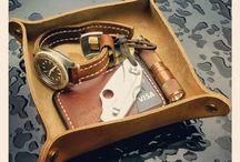 handmade leather / Handmade leather goods