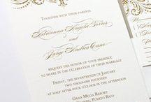 Glamorous Wedding Inspiration / Inspiration for your glamorous wedding