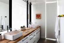 Bathroom remodel / by Beverley Devine Brolick